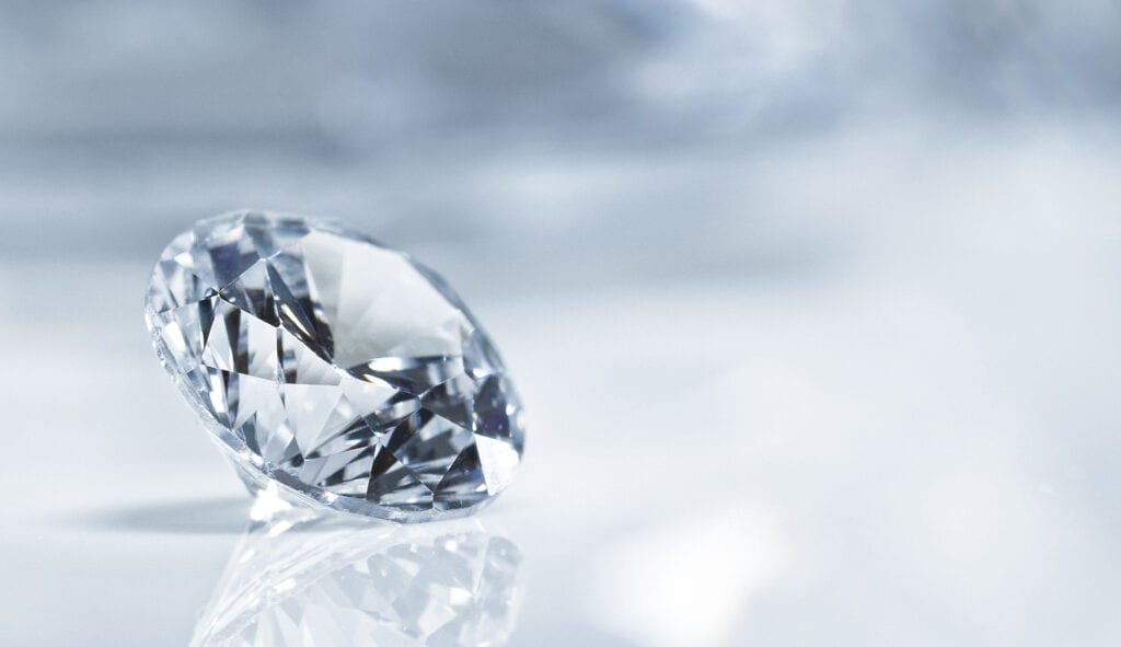 Non-fungible Token Hard Asset Diamond Investment, NFT marketplace